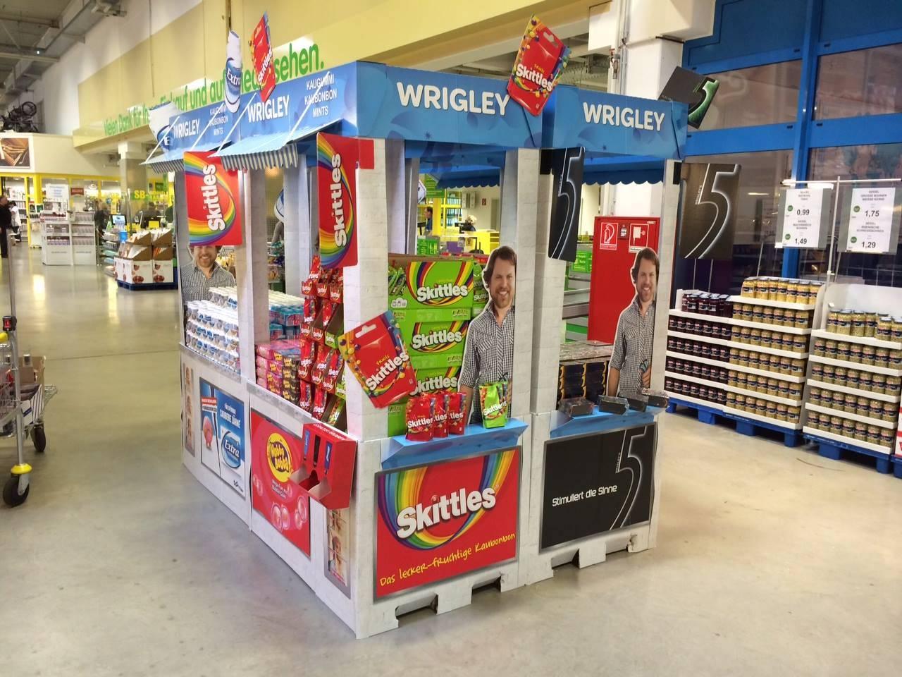 Wrigley Kiosk – POS-Grossplatzierung - 2
