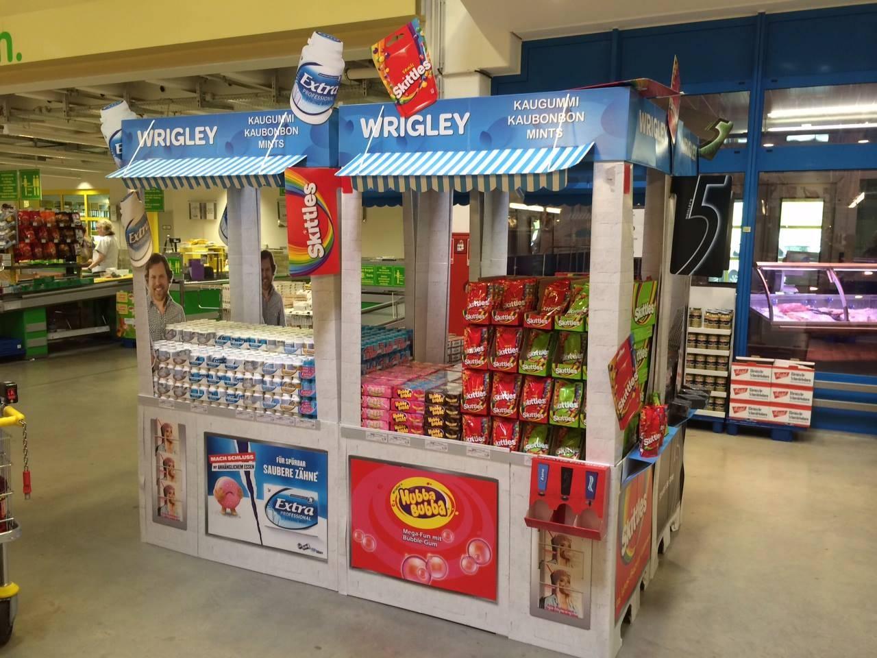 Wrigley Kiosk – POS-Grossplatzierung - 1
