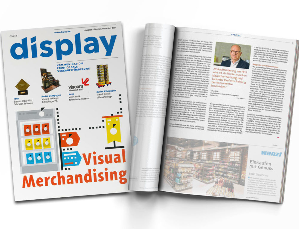 "Visual Merchandising in ""display"""