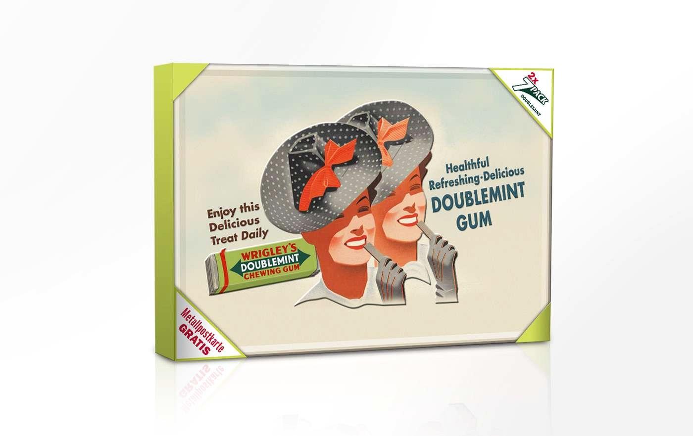 Wrigley Spearmint Nostalgie Promotion - 2